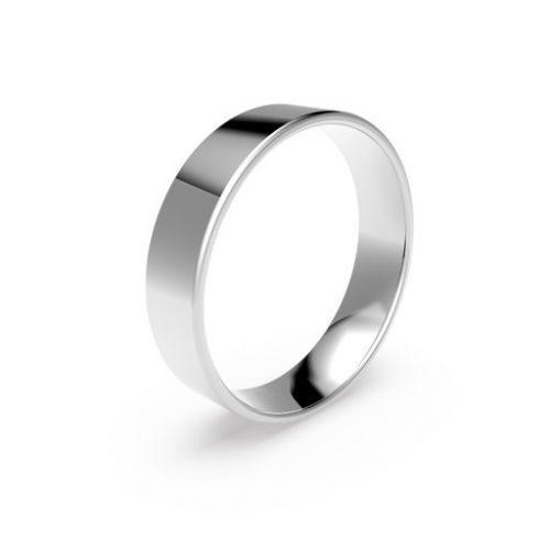 Förlovningsring i platina 5mm, 70