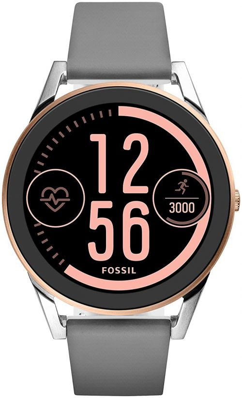 Fossil 99999 Herrklocka FTW7001 LCD/Gummi Ø44 mm