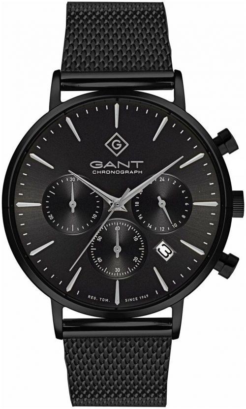 Gant 99999 Herrklocka G123009 Svart/Stål Ø42 mm