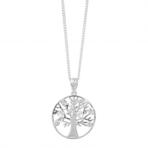 Halsband i Sterling Silver 925- Livets träd