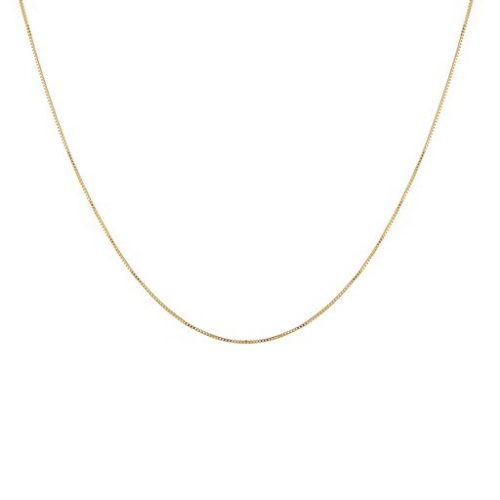 Halsband i förgyllt silver