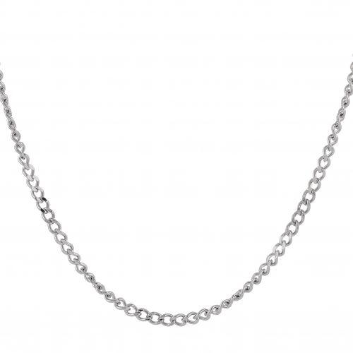 Halsband i stål - Curb chain för barn