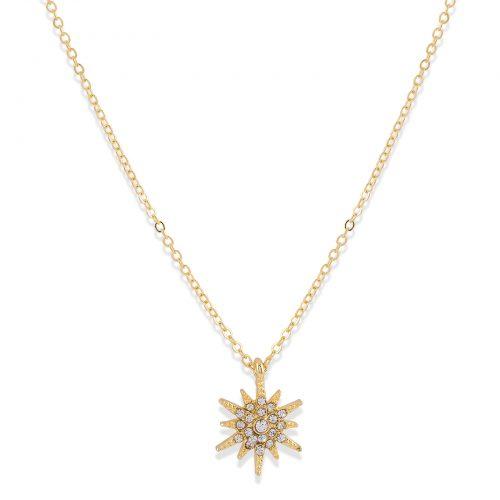 Halsband med stjärna Silver Montini