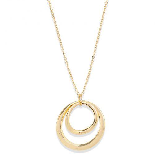 Halsband med stor cirkel Montini