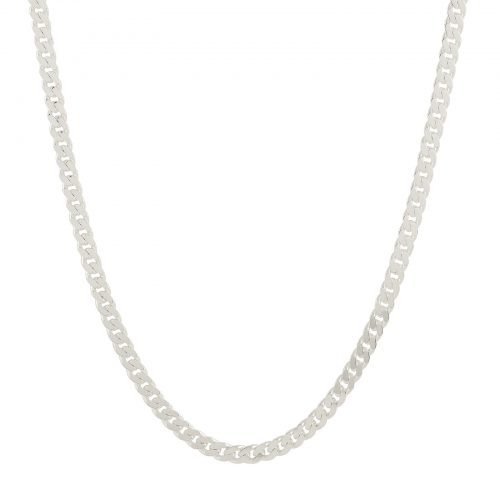 Halsband silver - Pansarkedja herr