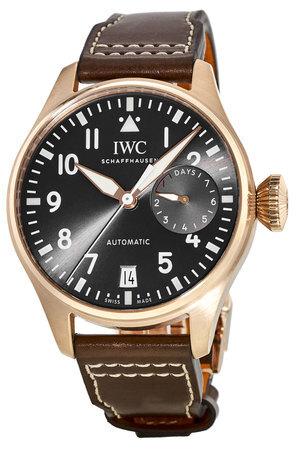 IWC Pilots Spitfire Herrklocka IW500917 Grå/Läder Ø46.2 mm