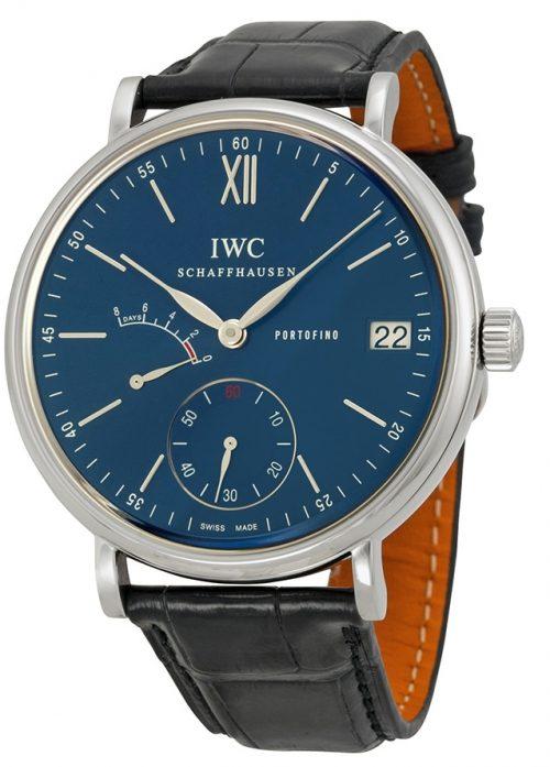 IWC Portofino Herrklocka IW510106 Blå/Läder Ø45 mm