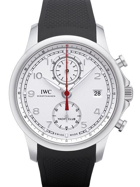 IWC Portuguese Herrklocka IW390502 Silverfärgad/Gummi Ø43.5 mm