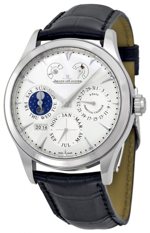 Jaeger LeCoultre Master Eight Days Perpetual Stainless Steel