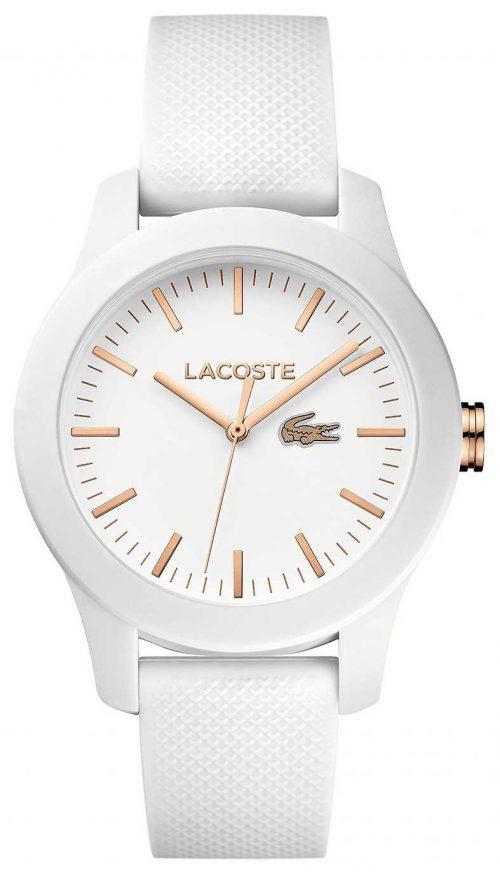 Lacoste Dress 2000960 Vit/Gummi Ø38 mm