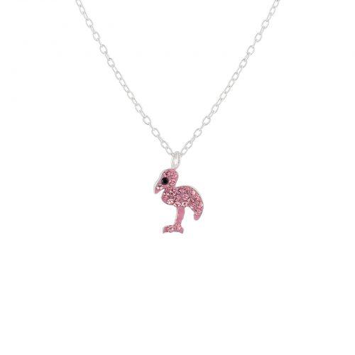 Little miss Lovely Halsband Flamingo