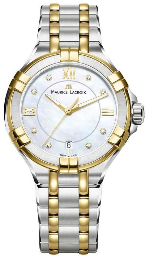 Maurice Lacroix Aikon Lady Quartz Damklocka AI1006-PVY13-171-1