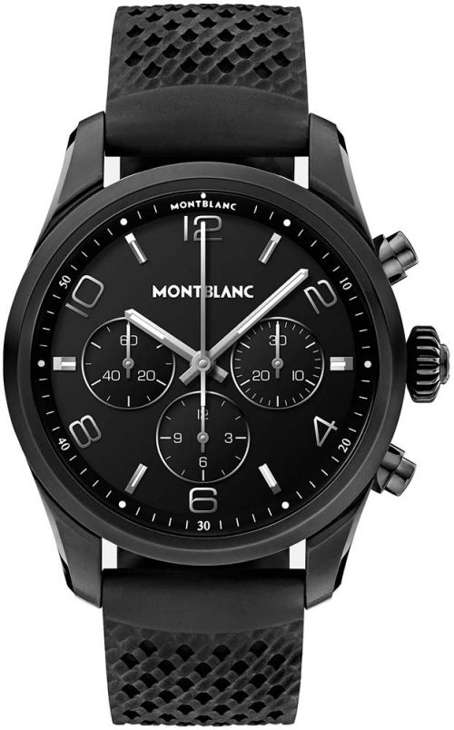 Montblanc Summit 2 127650 Svart/Gummi Ø43.5 mm