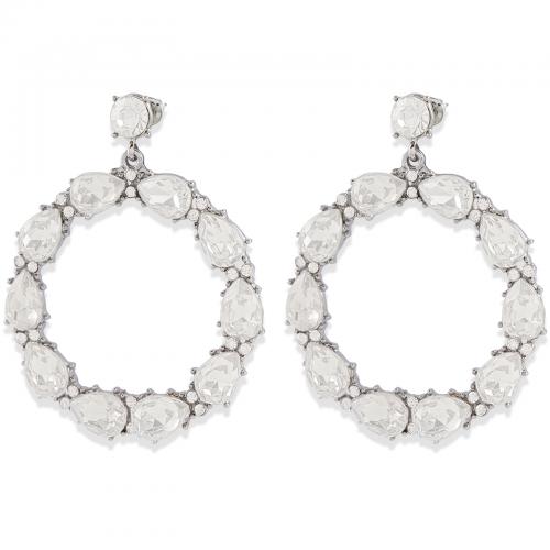 Montini Trend Örhängen Crystal Silver