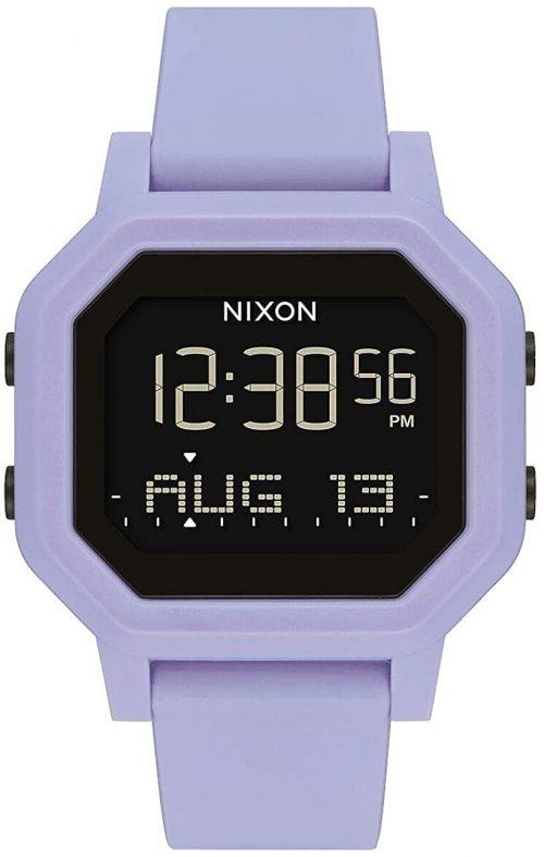 Nixon 99999 Damklocka A1210286-00 LCD/Gummi