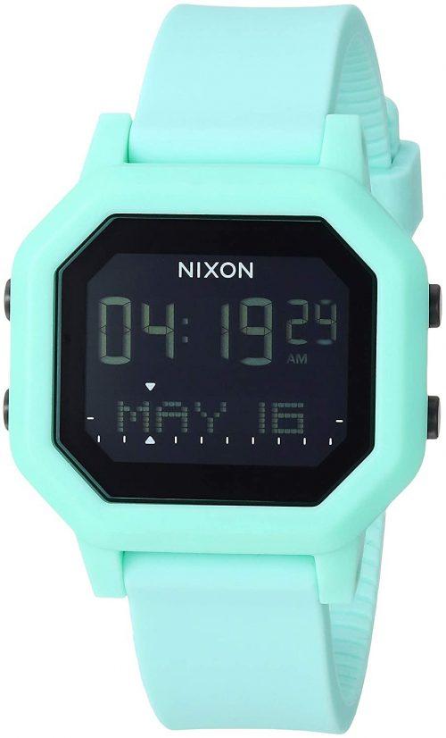 Nixon 99999 Damklocka A12102930-00 LCD/Gummi