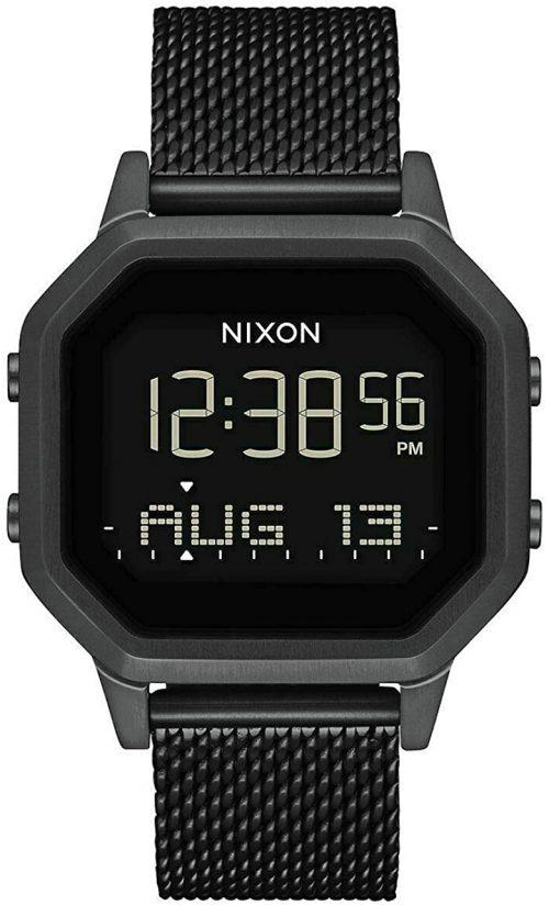 Nixon 99999 Damklocka A1272001-00 LCD/Stål