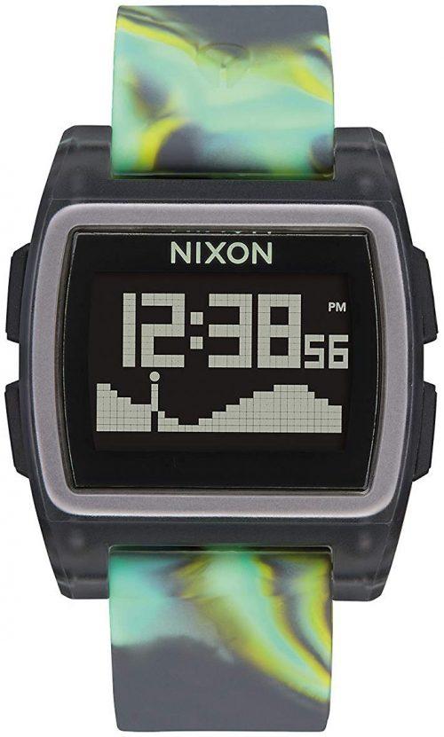 Nixon 99999 Herrklocka A11043177-00 LCD/Gummi