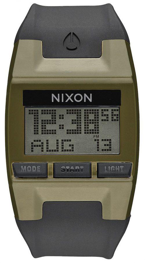 Nixon 99999 Herrklocka A4081089-00 LCD/Gummi