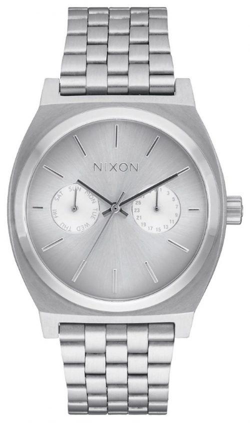 Nixon The Time Teller Damklocka A9221920-00 Silverfärgad/Stål Ø37