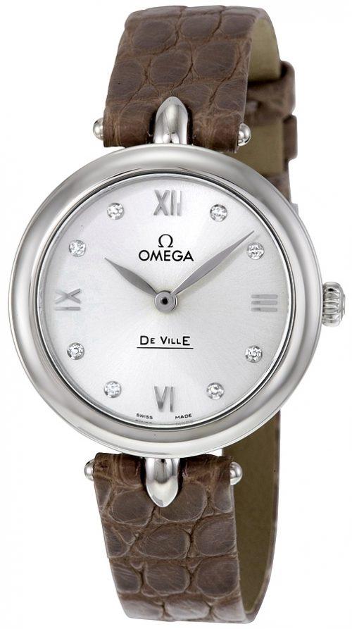 Omega De Ville Prestige Quartz 27.4mm Damklocka 424.13.27.60.52.001