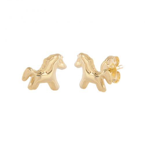 Örhängen 18k guld - Hästar