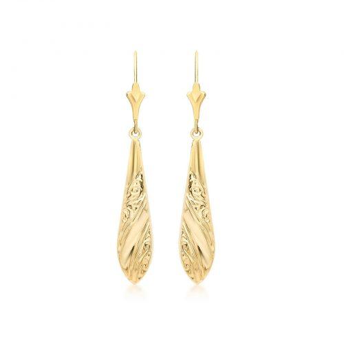 Örhängen 9K Guld - Droppar