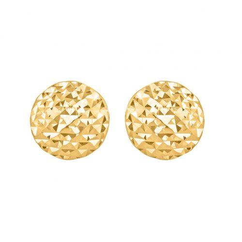 Örhängen 9K Guld - Facetterade