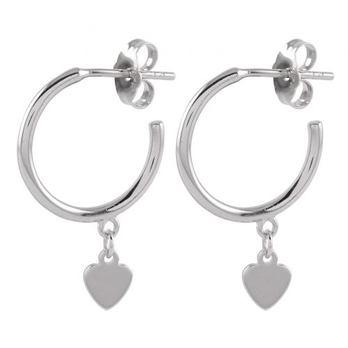 Örhängen Sterling Silver 925 Hjärtan