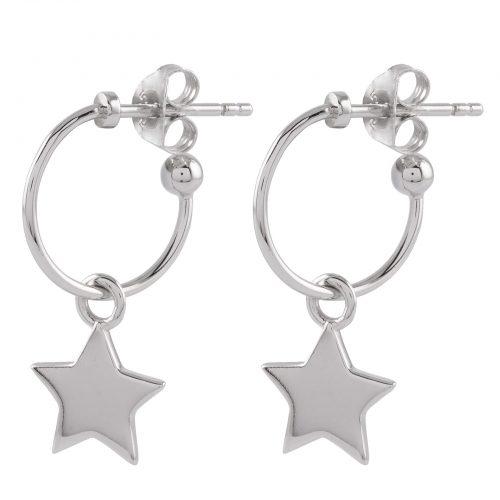 Örhängen Sterling Silver 925 stjärnor