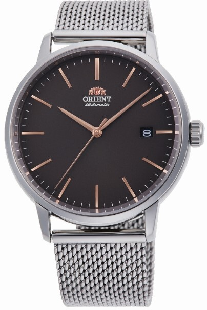 Orient Slim Herrklocka RA-AC0E05N10B Brun/Stål Ø40 mm