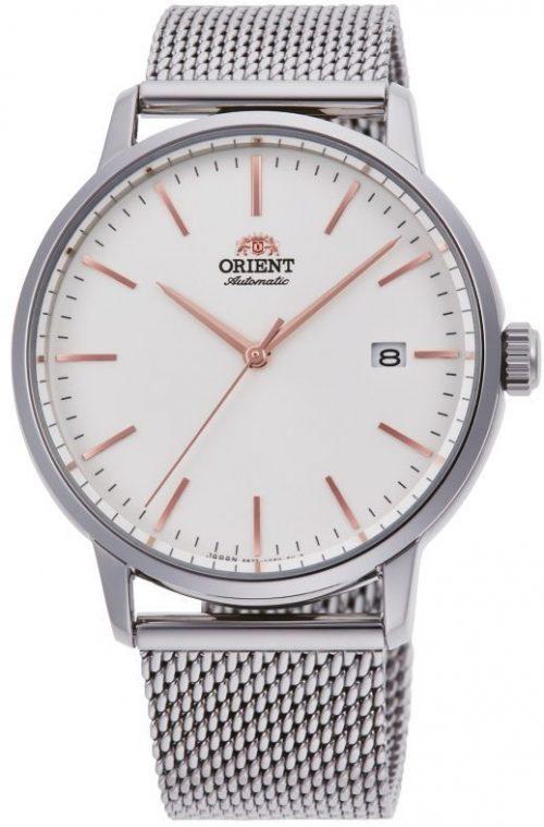 Orient Slim Herrklocka RA-AC0E07S10B Vit/Stål Ø40 mm