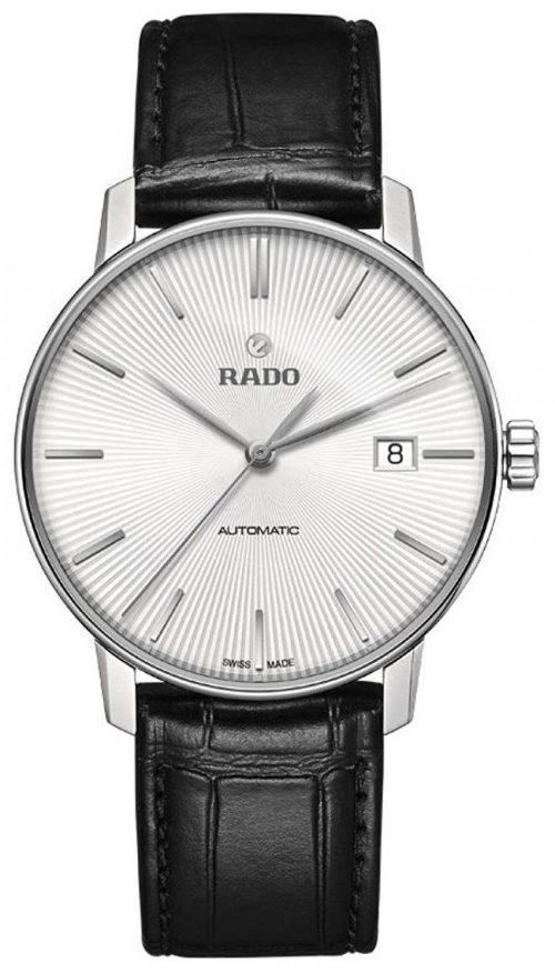 Rado Coupole Herrklocka R22860015 Silverfärgad/Läder Ø38 mm