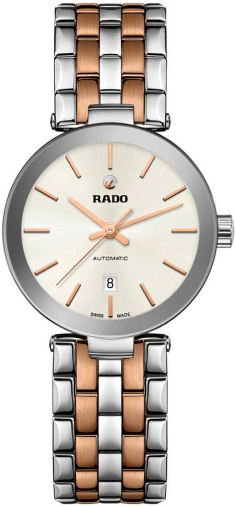 Rado Florence Damklocka R48899103 Vit/Roséguldstonat stål Ø28 mm