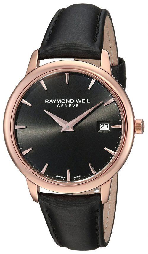 Raymond Weil Toccata Damklocka 5388-PC5-20001 Svart/Satin Ø34 mm