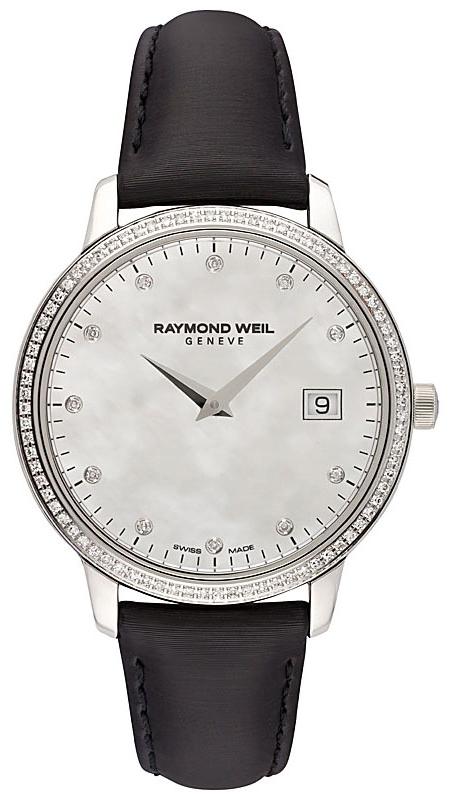 Raymond Weil Toccata Damklocka 5388-SLS-97081 Vit/Satin Ø34 mm