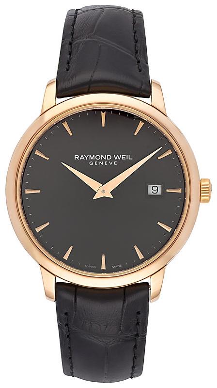 Raymond Weil Toccata Herrklocka 5488-PC5-20001 Svart/Läder Ø39 mm