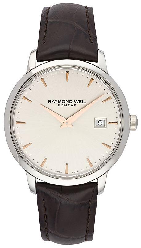 Raymond Weil Toccata Herrklocka 5488-SL5-65001 Silverfärgad/Läder