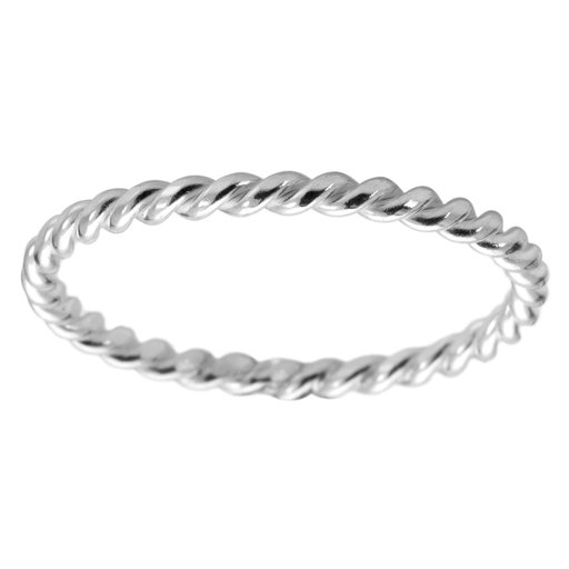 Ring i äkta silver, 14.0