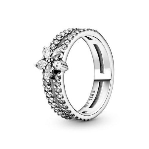 Ring i äkta silver, 17.0