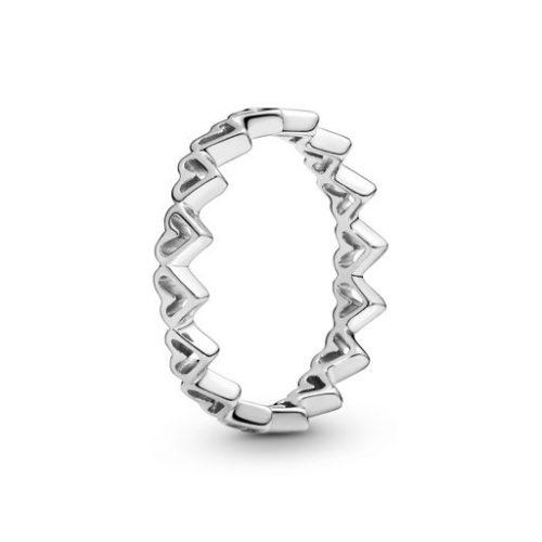 Ring i äkta silver, 18.0