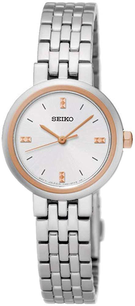 Seiko Classic Damklocka SRZ458P1 Silverfärgad/Stål Ø24 mm