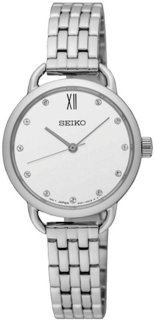Seiko Classic Damklocka SUR697P1 Vit/Stål Ø27 mm