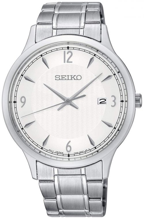 Seiko Classic Herrklocka SGEH79P1 Silverfärgad/Stål Ø40 mm