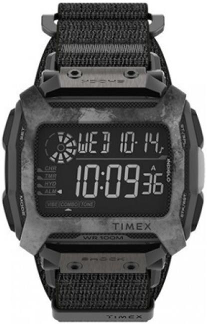 Timex Command Herrklocka TW5M28500 LCD/Textil