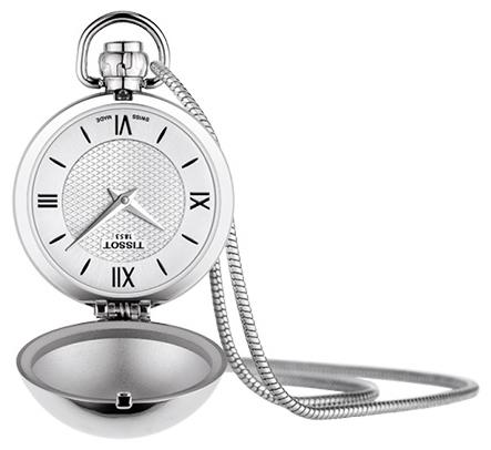 Tissot T-Pocket Pendants T858.209.16.038.00 Silverfärgad Ø22 mm