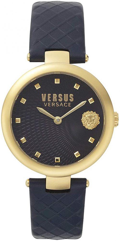 Versus by Versace Buffle Bay Damklocka VSP870318 Blå/Läder Ø36 mm