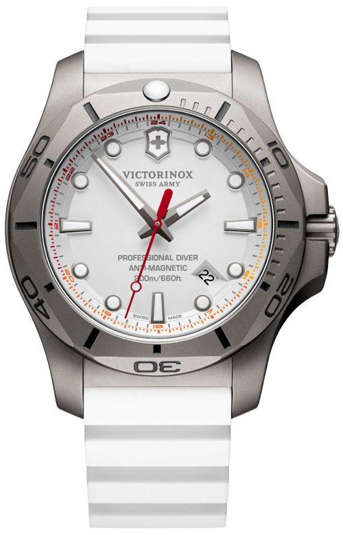 Victorinox 99999 Herrklocka 241811 Vit/Gummi Ø45 mm