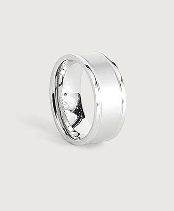 by Billgren Stainless Steel Ring Silver